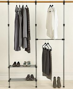 Whitmor Closet Organization System, Closet Rod- on sale for $49 through 11/12/13 and addtl 15% off with code SUPER