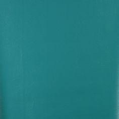 Lagoon Aqua Solid Leather Hide Grain Indoor Outdoor Vinyl Upholstery Fabric