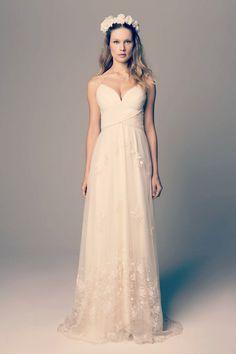 Estilo boho: Os 9 mais lindos vestidos para as noivas