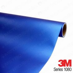 5ft x 4ft (20 Sq/ft) 3M MATTE Blue Metallic M227 Scotchprint Car Wrap Vinyl Film 1080 Series When applied correctly to the appropriate hard surface the film is very durable and scratch resistant.. When heated and stretched it can be applied to extreme curved surfaces with a little patience and work.. The film is coated with a UV protective layer which lasts up to 12 years outdoors.. Once applied a... #3M #Automotive_Parts_and_Accessories