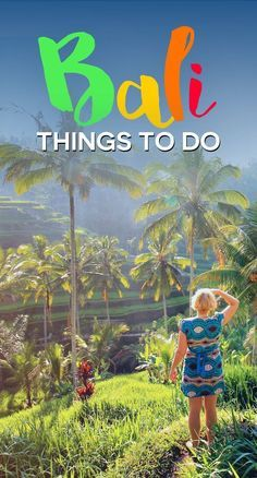 10 Top Things To Do In Bali Indonesia | Feeling overwhelmed with planning your Bali itinerary? Look no further! Here is my personal travel guide for you, with tips on things to do and where to stay in Bali... | via @JustOneWayTicket | Travel Blog