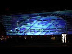 Spectacular reopening Holland Casino Scheveningen with DJ Ferry Corsten and interactive building 3D Projection Mapping.