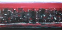 Snow in NYC 60x30cm (2010)