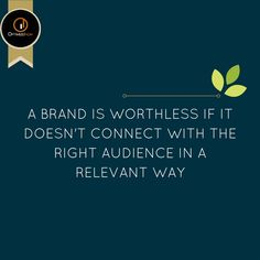 Branding = Hitting the right chord with your audience. More at https://goo.gl/bgFKFC