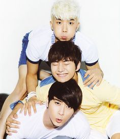 2pm: Woo Young, Junho, Chungsung. Cr: IT'S ALL ABOUT 2PM