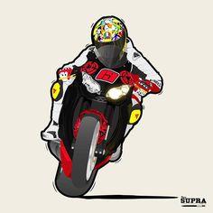 Bucky Sacrilege on his Honda CBR1000RR.  #everydayImdoodling #doodle #doodles #sketch #sketchbook #keepdrawing #draw #drawing #dessin #dessindujour #illustration #design #moto #Honda #motorbike #motorcycle #pencil #pencildrawing #wheelie #powerwheelie #bikelife #vector #vectordoodle #illustration #cartoon #illustrator #vr46helmet #cbr
