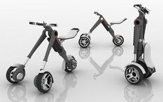 Personal Electric Vehicle By Alan Fratoni