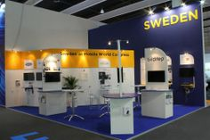 #Sweden stand at last #MWC14 edition in #Barcelona