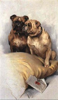 Arthur Wardle - Toy Bulldogs