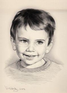 lin-wang Copic Drawings, Drawing Sketches, Pencil Drawings, Art Drawings, Pencil Sketch Portrait, Portrait Art, Drawing For Kids, Children Drawing, Drawing Ideas