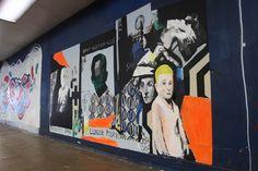Mural in Croydon by Dan Cimmermann