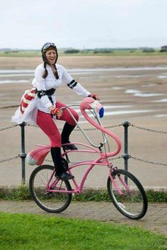 Flamingo bike!