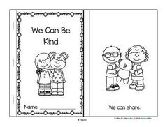 This is a booklet to make, a sample from my Martin Luther King pre-K curriculum. It features ways that young children can show kindness to each other. Manners Preschool, Free Preschool, Preschool Themes, Preschool Printables, Preschool Lessons, Preschool Classroom, Preschool Friendship Activities, Friendship Crafts, Primary Lessons
