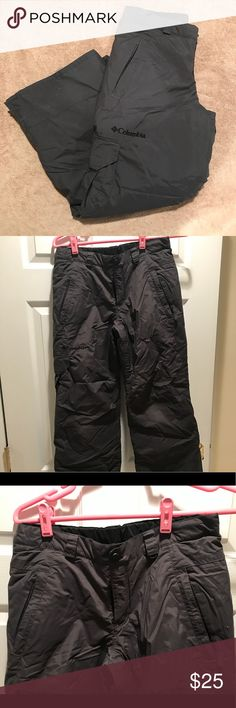 Columbia Sportswear Snow Pants Columbia Sportswear youth snow pants. Size 10/12. Only worn a few times Columbia Sportswear Company Bottoms