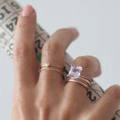 Der kleine Herzchen Ring ist super süß