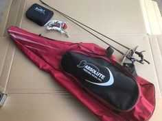 Red Absolute Fencing Gear, Inc. Fencing Bag, pisto grip Swords, Epee+++