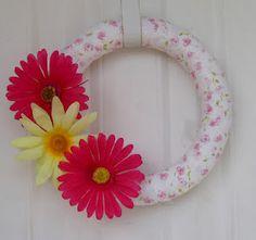 fun craft, wreath project, daffodil, easterspr craft, occasion craft