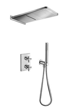 Imported From Abroad Bathroom Shower Column Rain Waterfall Shower Panel Tower Shower Faucet W Body Spa Massage Jets Tub Spout Mixer Tap For Bath Back To Search Resultshome Improvement Shower Faucets