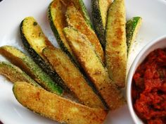 Make and share this Oven-Fried Zucchini Sticks recipe from Genius Kitchen.
