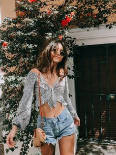 27 casual summer outfit ideas for women the best feed Spring Outfits Casual feed Ideas Outfit Summer Women Summer Outfits For Teens, Trendy Summer Outfits, Spring Fashion Outfits, Spring Summer Fashion, Outfit Summer, Summer Wear For Women, Summer Fashions, Summer Fall, Casual Street Style Summer