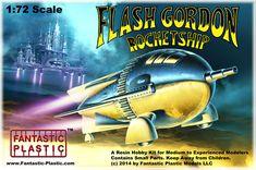 Flash Gordon Rocketship 1:72 Model Kit by Fantastic Plastic