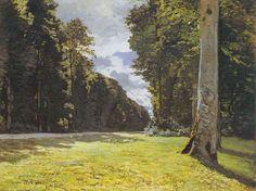 Le Pavé de Chailly dans la forêt de Fontainebleau (C Monet - W 57)
