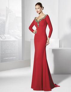 Los mejores vestidos de fiesta rojos 2016 de Primavera Verano - Tendenzias.com