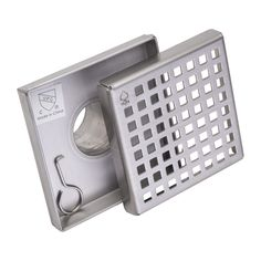 $29.99. BAI Stainless Steel Square Shower Drains allow the bathroom floor to take on a new dimension to become an integral part of the design. Eliminate barriers in the shower layout for level threshold designs. Compatible with different floor structures, specifically designed for bonded waterproofing assemblies.