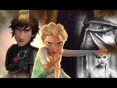 Hiccup & Elsa- Real Life/ They are the best couple? (Hiccelsa) - YouTube