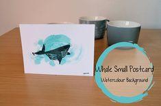 Hey, j'ai trouvé ce super article sur Etsy, chez https://www.etsy.com/fr/listing/583485192/whale-small-postcard-coloured-petite