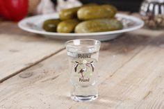 Kieliszek szklany do wódki POLAND BOCIANY 35 ml