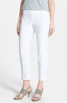 Eileen Fisher Eileen Fisher Slim Ankle Pant (Regular & Petite) available at #Nordstrom