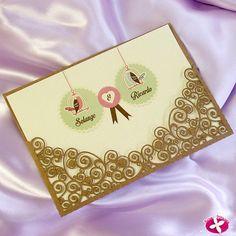 ♥♥♥  5 maneiras de você arrasar com convites de casamento recortados a laser O convite de casamento é o primeiro contato dos convidados com o grande dia e já deixa claro pra que tipo de evento eles irão: clássico, rústi... http://www.casareumbarato.com.br/5-maneiras-de-voce-arrasar-com-convites-de-casamento-recortados-a-laser/