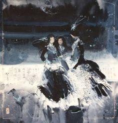 "Saatchi Art Artist Yulia Luchkina; Painting, ""Evening."" #art"