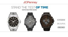 jcpenney coupons,Wrist watches for men have become an important accessory. Use JCPenney coupons to avail healthy discounts and deals when you shop. I'm sure one you shop from them and you would not prefer any other store the very next time.