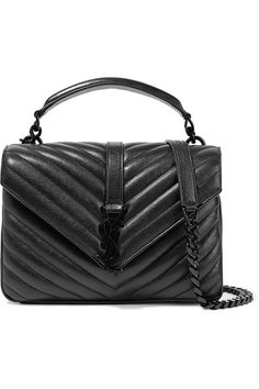 Black leather Snap-fastening front flap Comes with dust bag Weighs approximately 1.5lbs/ 0.7kg Made in Italy