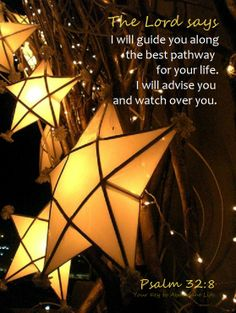 "Have faith that everything will work out in the end. ""I will guide you along the best pathway for your life..."""
