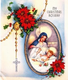 ✨Madonna and Child Christmas Rosary✨ (PaperPrizes,+$3.00)