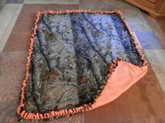 Realtree blankets | Realtree Tie Blanket by KaanisKreations on Etsy