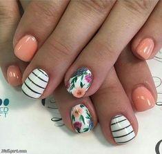Best Nail Designs for Short Nails #PopularNailShapes