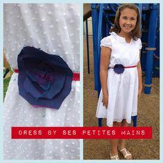 5th grade graduation dress by Ses Petites Mains.