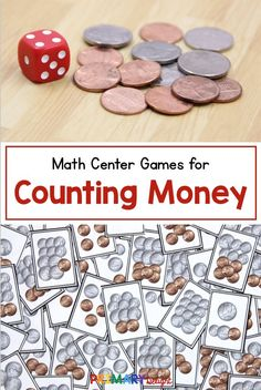 Wondering how to teach counting money to 2nd grade students - or even kids in 1st or 3rd? This blog post has lots of great teaching strategies and activities to help your students be successful at counting coins. The tips include suggestions to build skip counting skills, pictures of an anchor chart to support money counting, and several games (including no print suggestions with coins and dice). You are sure to find tips to help your students count money! #TeachingMoney #2ndGradeMath