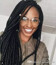 Cheap Bundles Synthetic Crochets Braids Locs Hair Eunice Crochet Hair Janet Collection Havana Mambo Fauxlocs Braid 18 Faux Dreads Hair Synthetic Hair Crochet Braids Faux Locs Online with $7.98/Piece on Kadoyeehair's Store | DHgate.com