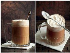 Сливочное пиво.      ванильное размягченное мороженное (пол литра);     яблочный сидр (литр);     сливочное масло (пол ложки);     коричневый сахар (треть ложки);     корица (две чайных ложки);     мускатный орех (одна чайная ложка);     гвоздика (четыре штучки). + алкогольний рецепт...