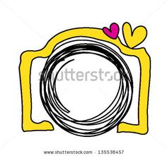 yellow hand drawn digital doodle camera with 2 love heart by princessmi by helloaimi shutterstock Second Love, Heart Logo, Love Heart, Hand Drawn, How To Draw Hands, Royalty Free Stock Photos, Doodles, Logo Design, Letters