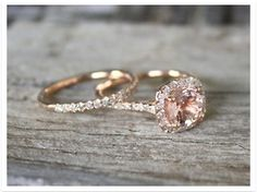 A matching wedding band?  Might have to try some on to see if you want to have a gap or get it custom made to wrap.