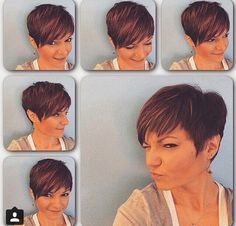 Looking for a new look? Short hair can be very sexy and desirable. Short Hair Styles Easy, Short Hair Cuts, Curly Hair Styles, Pixie Cut Curly Hair, Pixie Haircut, Hair A, Bad Hair, Look Short, Cute Short Haircuts