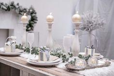Collezioni Natale 2017: elegante tavola natalizia.