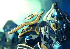 Hierarch Artanis by LeoLuna23