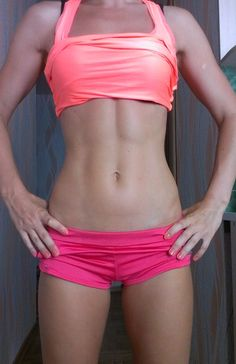 Great abs!
